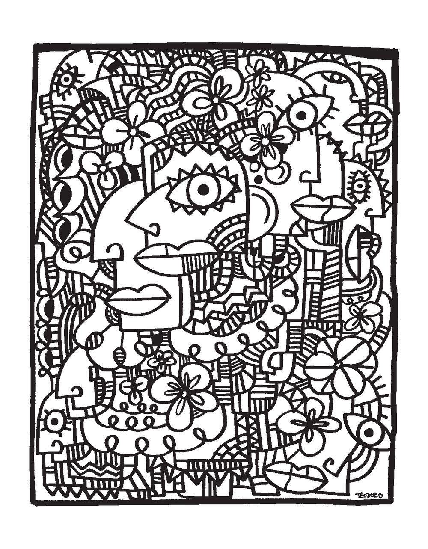 иллюзинариум арт раскраска для взрослых