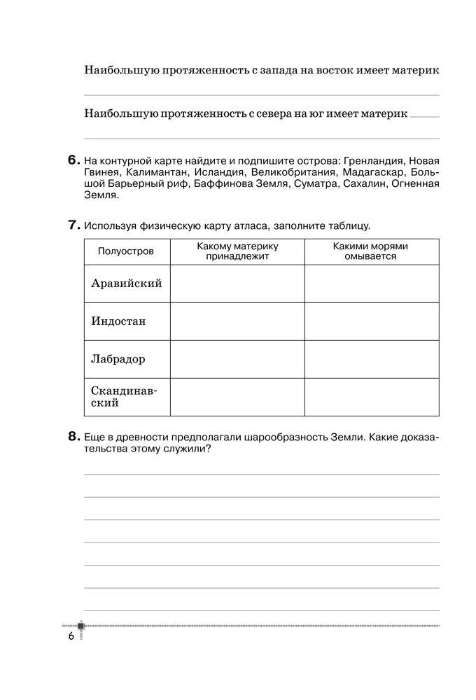 Решеба.ру нужны ответы по практической работы по географии 7 класс а.н витченко г.г обух н.г станкевич