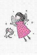 Блокнотик с котиками и девочками