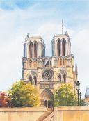 Нарисуй Париж акварелью по схемам — фото, картинка — 5