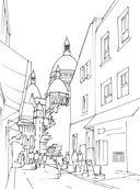 Нарисуй Париж акварелью по схемам — фото, картинка — 6