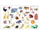 Удивительный мир животных. Книга с многоразовыми наклейками — фото, картинка — 2