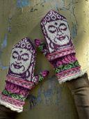 Необычные варежки и носочки в технике жаккард. Классные узоры — фото, картинка — 3
