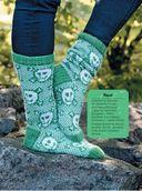 Необычные варежки и носочки в технике жаккард. Классные узоры — фото, картинка — 4