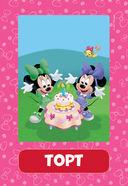 Клуб Микки Мауса. 100 первых слов. 50 развивающих карточек — фото, картинка — 4