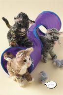 Забавные кошки и котята. Вяжем спицами — фото, картинка — 2