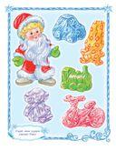 Письмо Деду Морозу с наклейками и конвертом — фото, картинка — 2