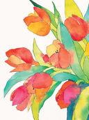 Нарисуй цветы в стиле модерн акварелью по схемам — фото, картинка — 3
