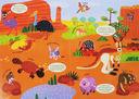 Раскраски-гармошки. Солнечная Австралия — фото, картинка — 1