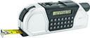 Мультиинструмент (рулетка на 2,5 м. с фиксатором, линейка, уровень, калькулятор, градуированный проектор для разметки линий) — фото, картинка — 1