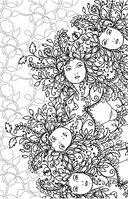 Загадочный лес. Мини-раскраска-антистресс для творчества и вдохновения — фото, картинка — 3