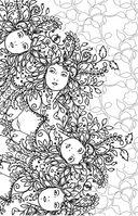 Загадочный лес. Мини-раскраска-антистресс для творчества и вдохновения — фото, картинка — 4