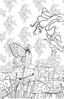 Загадочный лес. Мини-раскраска-антистресс для творчества и вдохновения — фото, картинка — 5