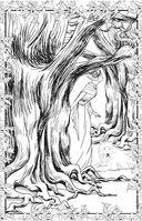 Загадочный лес. Мини-раскраска-антистресс для творчества и вдохновения — фото, картинка — 6