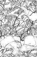 Загадочный лес. Мини-раскраска-антистресс для творчества и вдохновения — фото, картинка — 7