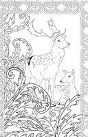 Загадочный лес. Мини-раскраска-антистресс для творчества и вдохновения — фото, картинка — 8