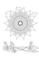 Mandalas. Блокнот для сбычи мечт (красный) — фото, картинка — 4