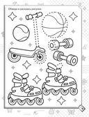 Рисуем, обводим, раскрашиваем по точкам, клеточкам, линиям (м) — фото, картинка — 9