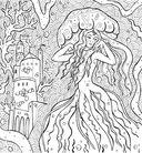 Раскраска-антистресс. Тайны подводных садов — фото, картинка — 2