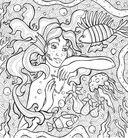 Раскраска-антистресс. Тайны подводных садов — фото, картинка — 5