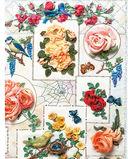 Розы из шелковых лент и органзы. Объемная вышивка — фото, картинка — 3