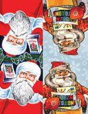 Новогодние флажки. Праздничные гирлянды своими руками (Дед Мороз) — фото, картинка — 1