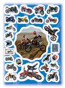 100 наклеек. Мотоциклы — фото, картинка — 1