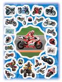 100 наклеек. Мотоциклы — фото, картинка — 2