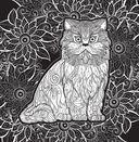 Свет и тень. Творческая раскраска с черно-белым фоном — фото, картинка — 9