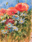 Нарисуй цветы акрилом по схемам — фото, картинка — 5