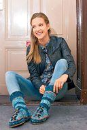 Вяжем домашнюю обувь для взрослых и детей — фото, картинка — 4