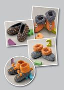 Вяжем домашнюю обувь для взрослых и детей — фото, картинка — 6