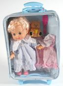 Кукла c мишкой (с аксессуарами) — фото, картинка — 1